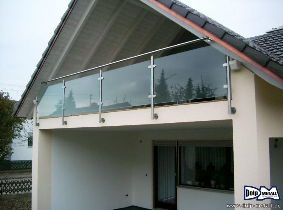 bauschlosserarbeiten balkongel nder glas 0214 dolp metall e k. Black Bedroom Furniture Sets. Home Design Ideas