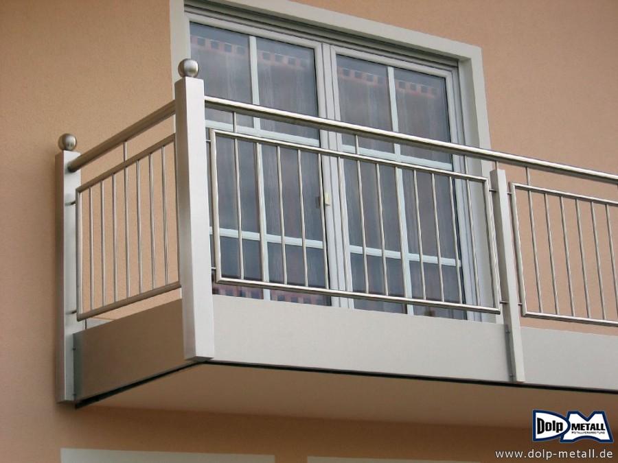 balkongel nder balkongel nder edelstahl 0223 dolp metall e k. Black Bedroom Furniture Sets. Home Design Ideas