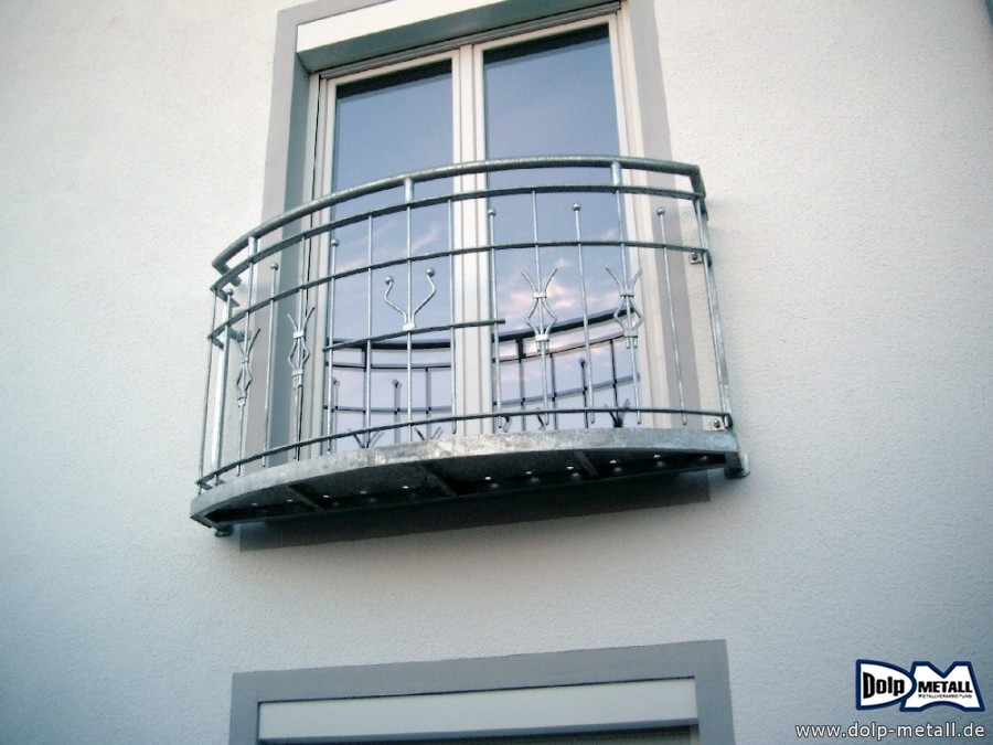 z une metall franz sicher balkon stahl 0101 dolp. Black Bedroom Furniture Sets. Home Design Ideas