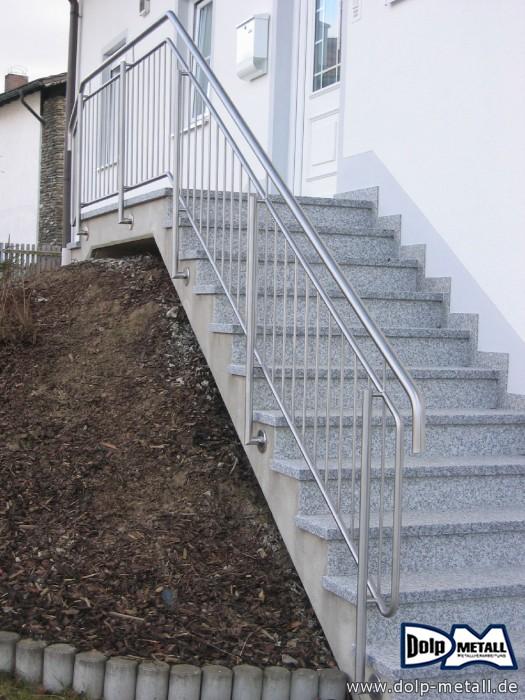 bauschlosserarbeiten treppengel nder edelstahl 0209 dolp metall e k. Black Bedroom Furniture Sets. Home Design Ideas